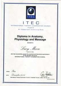 Anatomy, Phisiology and Massage